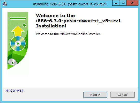 Installing the Windows C++ Compiler